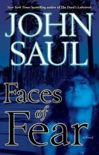 Faces of Fear by John Saul (2008, Hardcover)