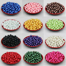 Wholesale Glass Pearl Round Spacer Loose Beads 10mm 30pcs/600pcs