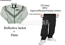 NEW US Army Military Physical Training Fitness PT UNIFORM Jacket TOP + PANTS Set