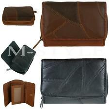 UK Ladies Womens Soft Leather Bifold Coin Bag/Pouch/Wallet Clutch Purse New