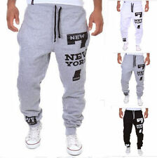 Harem Pants Men Casual Jogger Dance Sportwear Baggy Slacks Trousers Sweatpants d