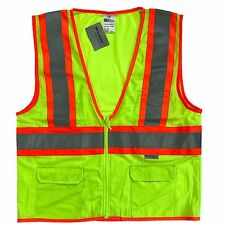3M ANSI/ISEA Class 2 Reflective Safety Vest 4 Pocket High Visibility ALL SIZES