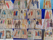 ALL SZ 16 U PICK SEWING PATTERNS MORE THAN PICS VINTAGE 1950S 1960S 1970S