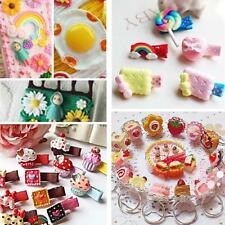50pcs Assorted Resin Flatback Embellishment for DIY Hair Bow Decoration Crafts