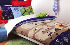 Treasure Hunter Quilt Cover Set Doona Duvet Cover Pirate Bedding Boys Kid Island