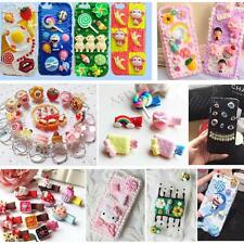 20 Pieces Cute 3D Kawaii Pattern Decor Whipped Cream Clay for Phone Case