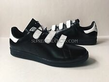ADIDAS RAF SIMONS [SZ 9.5 11 12] STAN SMITH COMF BLACK WHITE STRAP Y3 DS BA7370