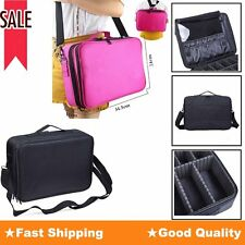 Pro Women Travel Cosmetic Beauty Makeup Bag Case Organizer Toiletry Backpack New