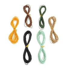10 Meter Waxed Cotton Cords Strings Ropes for DIY Necklace Bracelet Craft Making