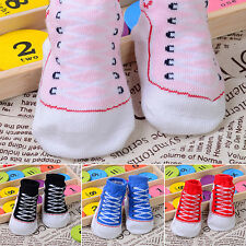 Cute Infant Baby Boy Girl Warm Indoor Comfy Cotton Boots Sole Shoes Socks Clever