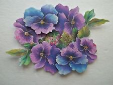3D - U Pick - FL3 - Flower Lily Pansy Iris Scrapbook Card Embellishment