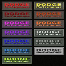 MOPAR Trunk Carpet Badge Dodge Performance fits Dodge Challenger Charger