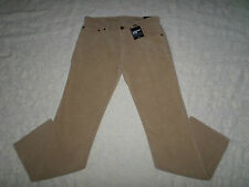 GAP CORDUROYS STRAIGHT PANTS MENS SIZE 31X30 ZIP FLY LIGHT KHAKI COLOR NWT