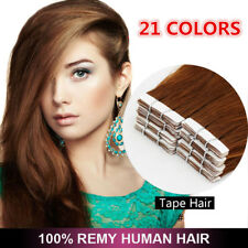 16''18''20''22''24'' 100% Remy PU Hair Tape in Human Hair Extensions 20pcs/Pack