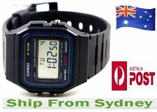 BRAND NEW CASIO F91W CLASSIC DIGITAL ALARM BLACK WRIST WATCH RETRO VINTAGE A159W