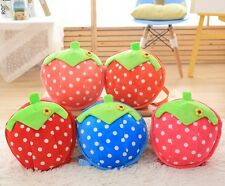 Lovely Child Backpack Fruit Strawberry School Bag Kindergarten Girl Backpack