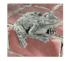 Frog Key Safe Marble Resin Statue Made in USA in 40 Colors
