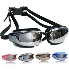 Swimming Goggles Anti Fog Adult Swim Glasses Black New Goggle Uv Protection