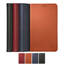 Limit Genuine Cow Leather Card Wallet Diary Cover Case For Samsung Galaxy S5