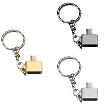 Micro USB Male Host to USB Female OTG Adapter for Android Tablet keychain