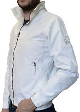 Giacca Giubbotto Uomo Bianco Murphy and Nye New Sail Jacket Cordura Light White