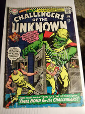 """ CHALLENGERS of the UNKNOWN ""  JULY  # 50  (1966)"