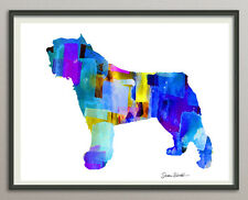Giant Schnauzer riesenschnauzer Dog All Sizes - Print Poster