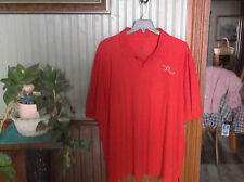 MENS SS RED BUTTON NECK ROCAWEAR Polo Shirt Mens BIG 4XB NWT!