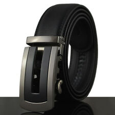 Fashion Casual Luxury Genuine Leather Mens Belt Waistband Strap Automatic Buckle