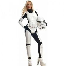 Star Wars Stormtrooper Women's Adult Halloween Costume. Shipping Included