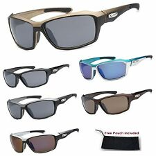 Men's Xloop Urban Modern Frame Sports Wrap Outdoor Ski Golf Workout Sunglasses