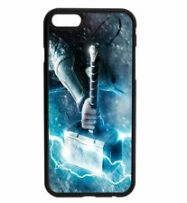 Thor God of Thunder Hammer Rubber Bumper Phone Case for iPhone & Samsung's D5