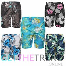 Boys Shorts Floral Hawaiian Swimshorts Trunk Swimwear Beach Summer Age 6,8,10,12