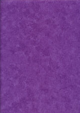 Makower Spraytime fabric PURPLE orchid VIOLET material sold by metre/FQ #2800
