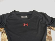 Under Armour Baby Shirt REALTREE Camouflage Camo & Black UA Top 18 Months