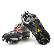 Anti Slip Shoe Boot Grips Ice Cleats Spikes Snow Gripper Non Slip Crampons !uuy