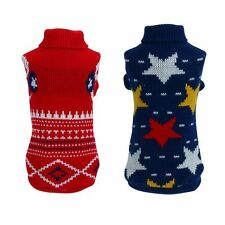 AU Pet Dog Warm Sweater Puppy Cat Shirt Winter Clothes Thick Apparel Jacket Coat