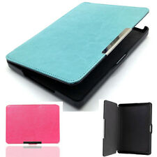 For Kobo Glo Magnetic Skin Shell Protector Auto Sleep Leather Stand Case Cover