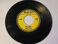 """Bobby Vinton - Roses Are Red (My Love) / You And I Vinyl 7"""" 45 - Epic - 2779252"""