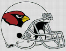Cross stitch chart, Pattern, Arizona, Cardinals, NFL, US, American, Football