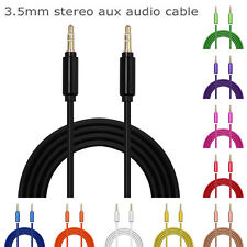 1m 3.5mm Jack Plug Aux Cable Audio Lead For to Headphone/MP3/iPod/Car/phone Lot