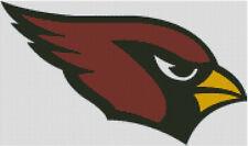 Cross stitch chart, Pattern, Arizona, Cardinals, NFL, American, Football, US