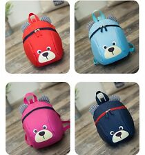 Boy Girl Child Backpack Lovely Small Bear Backpack Kindergarten Small School Bag