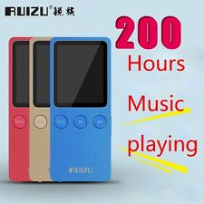 "Ultrathin RUIZU X08 Speaker 1.8"" 8GB MP3 Player Slim Video Radio FM Player"