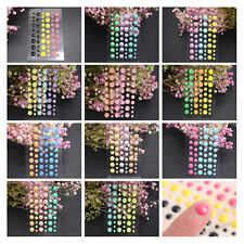 Small Sticko DIY Scrapbooking Puffy Crafts 1Pcs Decoration Resin Dot Stickers