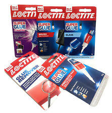 LOCTITE Super Glue All Range Instant Adhesive SuperGlue Remover And Rust Remedy