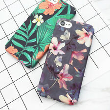 For Iphone 6, 7 Plus Case Apple Cover Tropical Banana Leaf Flowers Cherry Plants