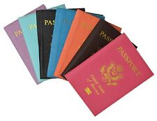 Protector Cover Wallet Travel Leather Passport Organizer Holder Card Case WDS