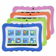 7'' Tablet PC Quad Core Google Android 4.4 8GB Dual Camera Bluetooth WIFI Kids