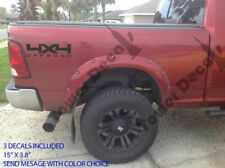 4X4 OFF ROAD TRUCK BED SIDE VINYL DECAL FOR CHEVY DODGE FORD NISSAN TOYOTA